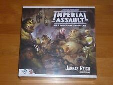 Star Wars Imperial Assault Jabbas riche élargissement Allemand Nouveau/Neuf dans sa boîte