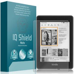 """IQ Shield Anti-Glare Screen Protector for Amazon Kindle Paperwhite (2018, 6"""")"""