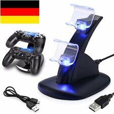 PS4 Playstation4 Ladestation Dockingstation USB Dual-Controller Ladegerät LED DE