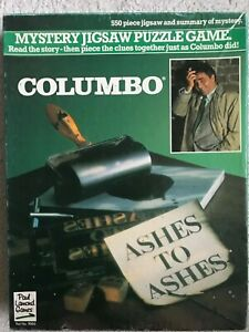 COLUMBO Mystery Jigsaw Puzzle Game Paul Lamond Games 550 pieces