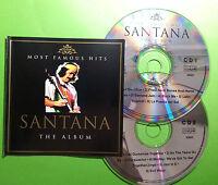 SANTANA 2 CD SET MOST FAMOUS HITS THE ALBUM FREE POST IN AUSTRALIA 2006 RARE