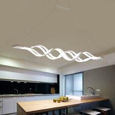 60w LED Lustre de salle à manger lounge Lumière Pendante blanc froid acrylique