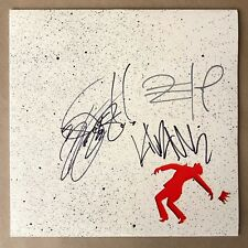 "DJ Shadow Run the Jewels Signed 3x Nobody Speak 12"" Single VInyl Record Rare"