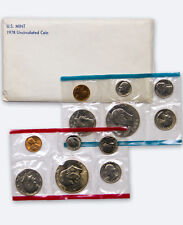 1978 United States US Mint Uncirculated Coin Set SKU1386