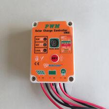 Wincong 10A 12V 24V Solar lamps controller Waterproof garden lights controller