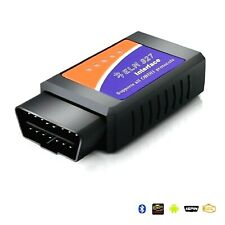 DIAGNOSI AUTO MOTO ELM327 OBD2 ODB-II TESTER BLUETOOTH KIT PROFESSIONALE RESET