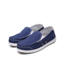 Hot Mens Canvas Driving Moccasins Shoes Pumps Loafers Breathable Comfy Low Top