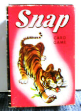 Vintage Snap Card Game No.4128-10 Whitman Publishing Complete 44 Cards + Instruc