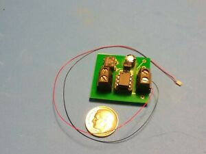 """Welder Effect with Bright White """"NANO"""" (0603) LED"""