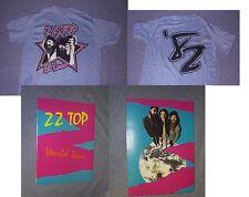 Original 1982 ZZ TOP EL LOCO T Shirt Blue & Tour Book