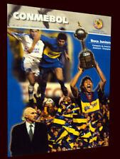 BOCA AMERICA CHAMPION 2001 Final Match vs CRUZ AZUL - CONMEBOL Magazine #69