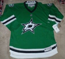 NEW NHL Dallas Stars Hockey Ice Hockey Jersey Reebok Youth Boys L/XL NEW NWT