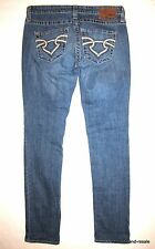 BIG STAR Casey Low Rise SKINNY Jeans Womens 28 Faded Wash Denim THE BUCKLE