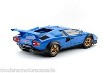 LAMBORGHINI COUNTACH WALTER WOLF BLUE 1:18th Scale by KYOSHO NEW IN BOX