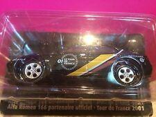 SUPERBE ALFA ROMEO 166 PARTENAIRE TOUR DE FRANCE 2001 1/43 NEUF SOUS BLISTER G2