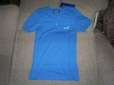 GIO GOI  Grandad  T-Shirts Sigma Blue size Small