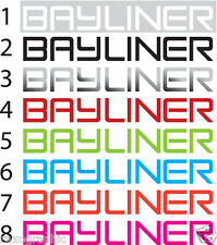 "BAYLINER WAKE BOAT EMBLEM HULL GRAPHIC KIT 46"" DECAL STICKERS"