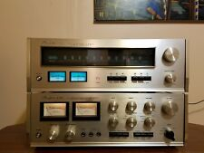 Accuphase E-202 amplifier,and  T-101 tuner combo.SWEET SET! Working,and nice!!