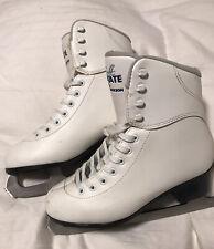 Womans Size 7 JACKSON SoftSkate White Figure Skates Ice Skates MINT