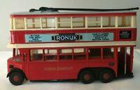 Matchbox Models Of Yesteryear Y-10 1931 London Transport Diddler Trolley Bus