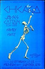 CHICAGO BG 225 FILLMORE concert poster 1970 DAVID SINGER BILL GRAHAM