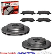Keramik Bremsbeläge vorne für Dodge Ram 1500 Pickup 06-18 mit 5 Bolzen Räder