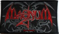 MAGNUM band  'name' sew on licensed woven patch.  Tony Clarkin  Bob Catley rock