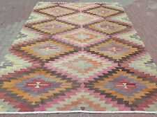 "Anatolia Turkish Classic Antalya Kilim 79,9""x105,5"" Arearugs,Kelim,Carpet,Wool"