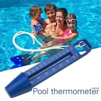 Swimming Pool Float Thermometer Spa Tub Bath Aquarium Fishpond Water Temp Gauge