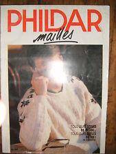 Phildar Mailles N°184 Tricot modele patron classique enfants adultes