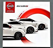 ORIGINAL 2015 NISMO GT-R ~ 370Z ~ JUKE RS ACCESSORIES BROCHURE ~ 12 PAGES~15NIS