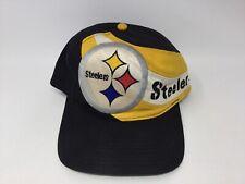 New listing VINTAGE 1990s PITTSBURGH STEELERS EASTPORT TEAM NFL FOOTBALL MEN'S SNAPBACK HAT