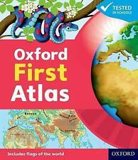 Oxford First Atlas-ExLibrary