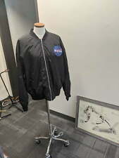 NASA Windbreaker Jacket with Spacelab 2 Mission Patch 2XL