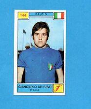 CAMPIONI SPORT 1969-70-PANINI-Figurina n.144- DE SISTI -ITALIA-CALCIO-Rec