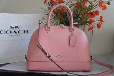 NWT COACH F57524 Sierra Dome Satchel Handbag Purse Shoulder Bag Blush