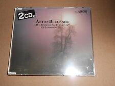 Anton Bruckner 2 CDs Symphony No 2 / 4 Romantic - CD Album