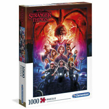 Puzzle High Quality Poster Temporada 2 Stranger Things 1000pcs - 39543 CLEMENTON