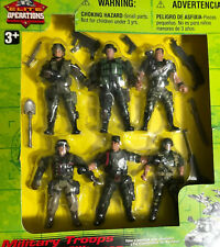 """Vintage 1999 Toys R Us Elite Military Operations Action Figures 4"""""""