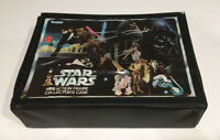 VINTAGE Star Wars Mini Action Figure Collectors Case 1977 KENNER CLEAN INTERIOR