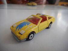 Majorette Nissan 300 ZX Turbo in Yellow