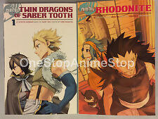 Fairy Tail Side Story manga set volumes 1-2 english paperback new