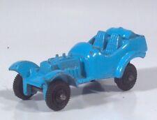 "Vintage Tootsietoy V8 Hot Rod Roadster 2"" Die Cast Car Scale Model Blue"