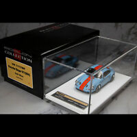 Make Up 1:43 Scale Porsche Singer 911 964 Coupe Gulf Blue Limited Collection