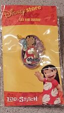 The Disney Store Lilo & Stitch holding Scrump Doll Free-D Pin from 2002