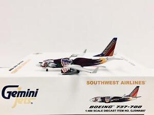 Gemini Jets 1:400 Southwest Airlines BOEING 737-700 N918WN GJSWA897 Illionis One