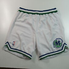 VINTAGE 90s Dallas Mavericks Team Issued Pro Cut Basketball Shorts Champion 46