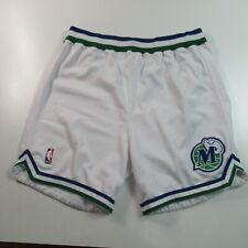 VINTAGE 90s Dallas Mavericks Team Issued Pro Cut Basketball Shorts Champion 46