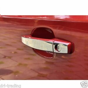 CHROME Door Handle TRIMS Plates For Holden Commodore VF Sedan SS SV6 Evoke Storm