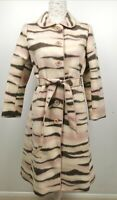 Moschino Cheap And Chic Printed Coat IT 44 EU 38 40 UK 12 US 10
